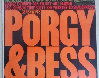 Mundell Lowe and His All Stars - Porgy & Bess LP CAL 490 RCA 1958, Excellent Condition
