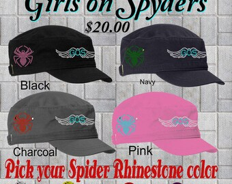 Can Am Spyder Girls on Spyders Custom Hats