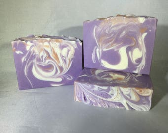 French Lavender and Honey Handmade Soap