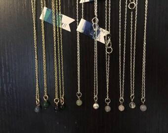 Charm Necklace: Aquarius