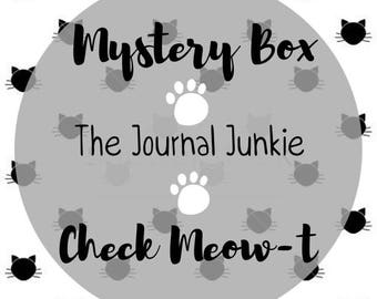 Cat Stationery Mystery Box