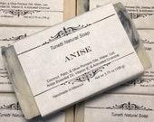 Anise Natural Soap, Handm...