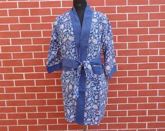 Summer dress/kimono dresss/kimono/beach kimono/block print/floral dress/ Indian block print/block print kaftan
