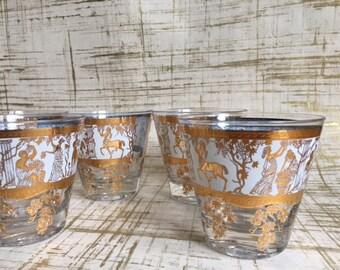 Grecian Midcentury Glassware