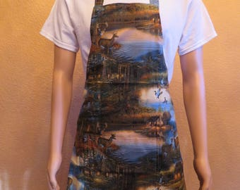 Men's Apron for the Outdoors Enthusiast