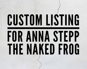 Custom Business Logo Wine Glass for Anna Stepp