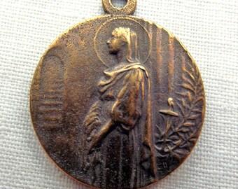 Bronze St. Philomena Medal VP103