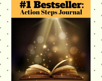 DIGITAL DOWNLOAD, Launch Your #1 Bestseller:Action Steps Journal, Guide How to Reach #1 Status on Amazon,