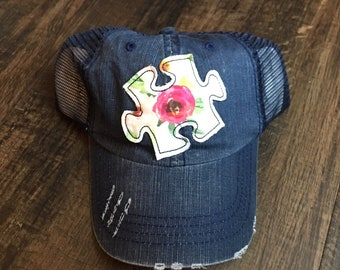 Autism Awareness Hat- 10% of sales donated
