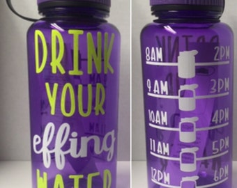 Sale---Drink Your Effing Water!