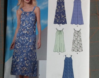 New Look 6047 Easy Sewing Pattern Casual Dress Out of Print