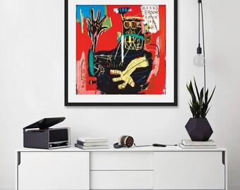 Untitled (Ernok), 1983 by Jean-Michel Basquiat Art Print