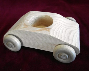 Get Away Car for Run Away Bride, No Bride, Unfinished Wood