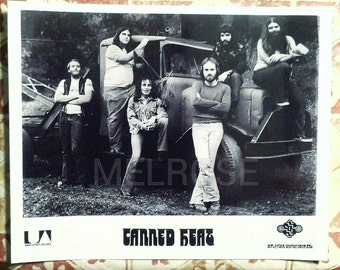 Canned Heat Rare Early Publicity Promo Photo 8X10