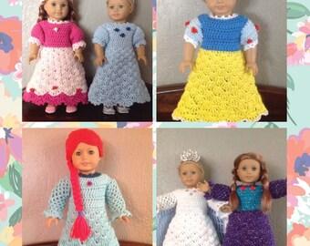 American Girl Crochet PATTERN