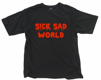 Sick Sad World - Daria T shirt - 90's hand made