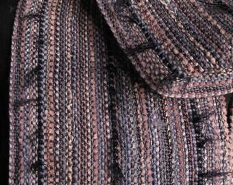 Lavande de rêves tissés à la main Art foulard