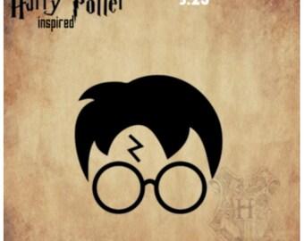 "Harry Potter inspired Vinyl Decal Sticker, 3.25"""