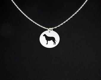 Irish Wolfhound Necklace - Irish Wolfhound Jewelry - Irish Wolfhound Gift