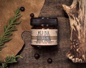 Beard Cream Balm - Wild Man - The Original - 24g // .85oz - Grooming Mens Gift