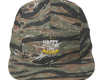 Happy International Left Handers Day August 13th Five Panel Cap