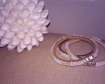Beaded Bracelet Hair Tie