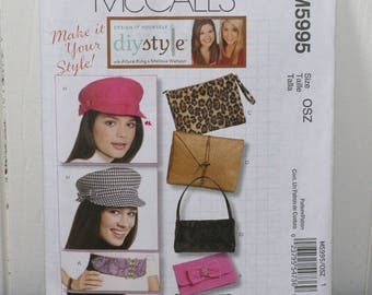 McCall's Pattern M5995 Hats, Clutches, Purses and Belts