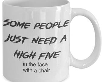 Some People Sarcastic Funny  Mug Present Birthday Present Coffee Lover Funny