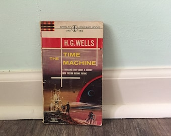 "H G Wells ""The Time Machine"" paperback book"
