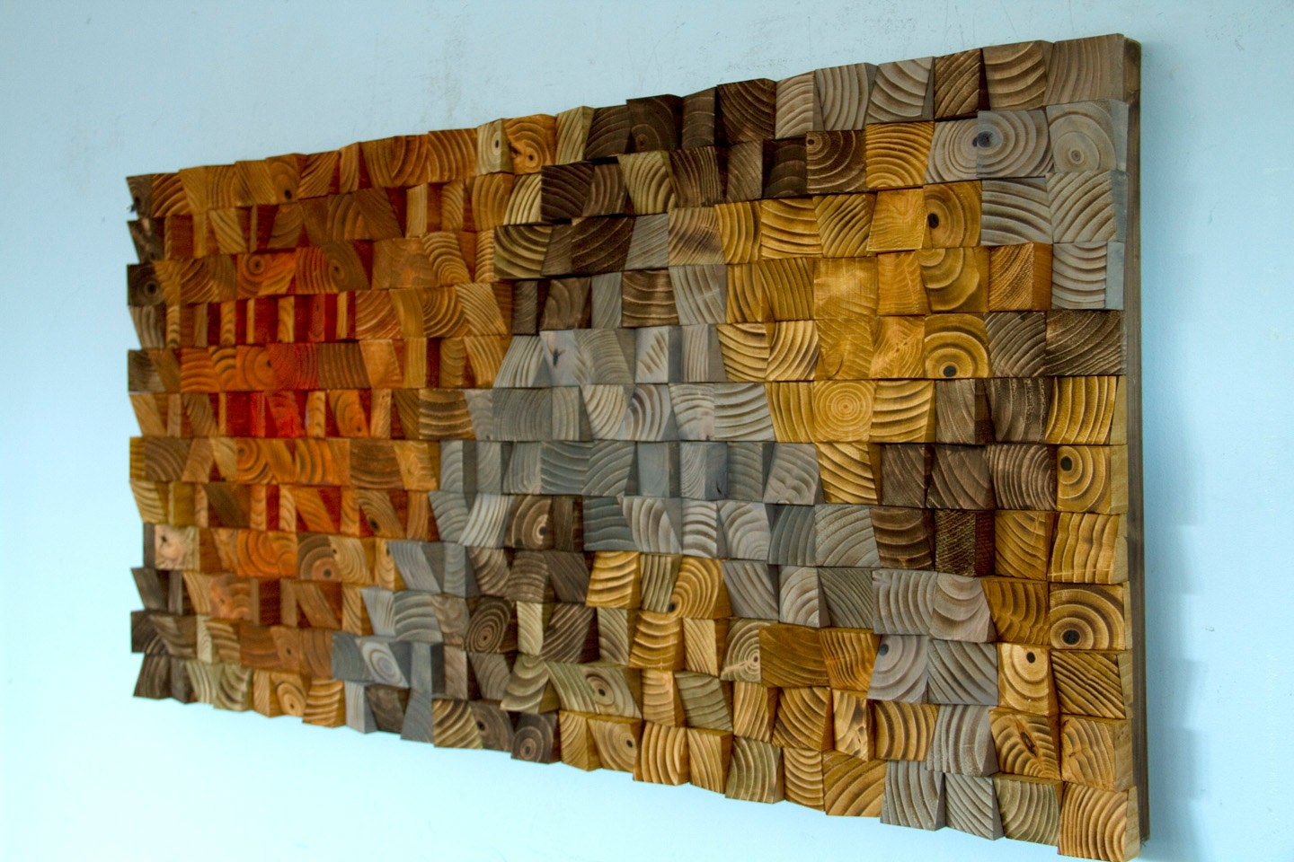 Wood Wall Art Rustic Wood Wall Art Wood Wall Sculpture Abstract Wood Art