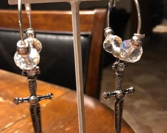 Tribal belly dance/steampunk/pagan/Renaissance/Celtic earrings