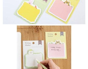 Cute Animals Post IT Notes Sticky Memo