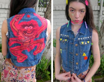 Animal Punk Vest