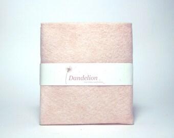 """1 Piece of White Nectarine Wool Blend Felt 22.8cm x 30.4cm (9"""" x 12"""")"""