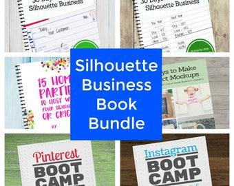 Silhouette Home Business Book Bundle - Start & Grow a Business - Pinterest - Instagram - Home Parties - Ebook - Craft - Social Media