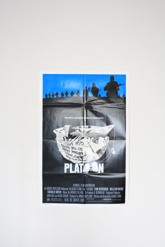 Original Theatrical One Sheet Film Poster - Platoon