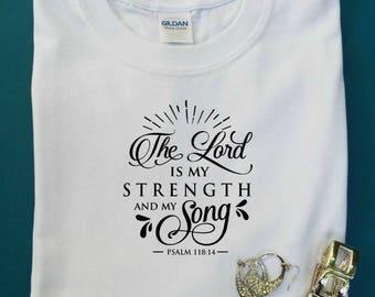 Faith tees, Christian shirts, Christian tee, Inspirational tee, Christian gift, Women's Christian clothing, Christian tshirt