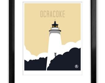 Ocracoke Lighthouse, National Seashore, Outer Banks