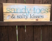 Sandy Toes and Salty Kiss...