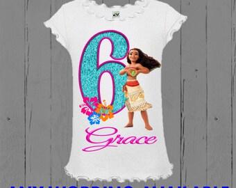 Moana Shirt - Moana Birthday Shirt - Moana Tank Top Available