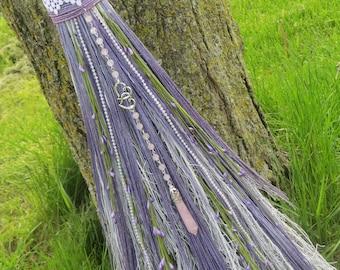 Lavender Wedding Broom, Handfasting Besom, Wiccan Wedding, Witches Broom, Jump the Broom, Wedding Jump Broom, Witchcraft Wicca,