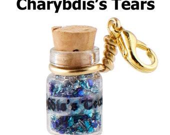 Charybdis Tears Apothecary Vial Charm