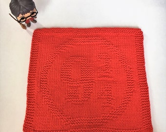 PDF Pattern - Harry Potter: Platform 9 3/4 Dishcloth/Washcloth