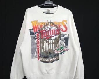 Vintage Minnesota Twins 1991 world series champion sweatshirt