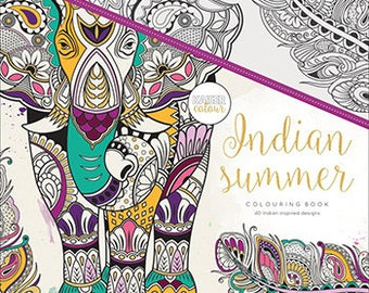 Indian Summer- Kaiser Coloring Book