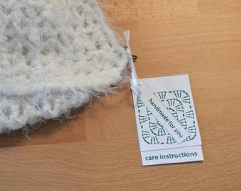 Green Colors, Garment Gift Tags for Crochet, Printable
