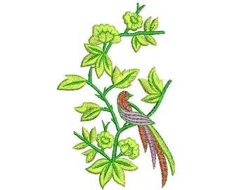 Bird of Paradise Mini Embroidery Design Machine Embroidery Designs pes Digital Design Bird Birds Birdies Birdie Sanders