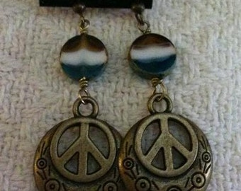 Boho Hippie Dangle Earrings