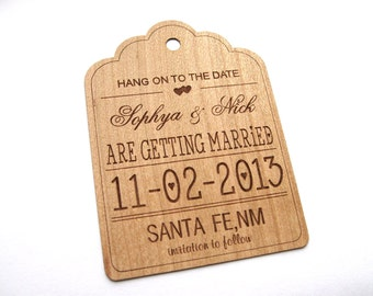 Save the Date card, Rustic Save the Date, Wedding Save the Date, Rustic Wedding, Rustic Decoration, Country Wedding, Wood Save the Date