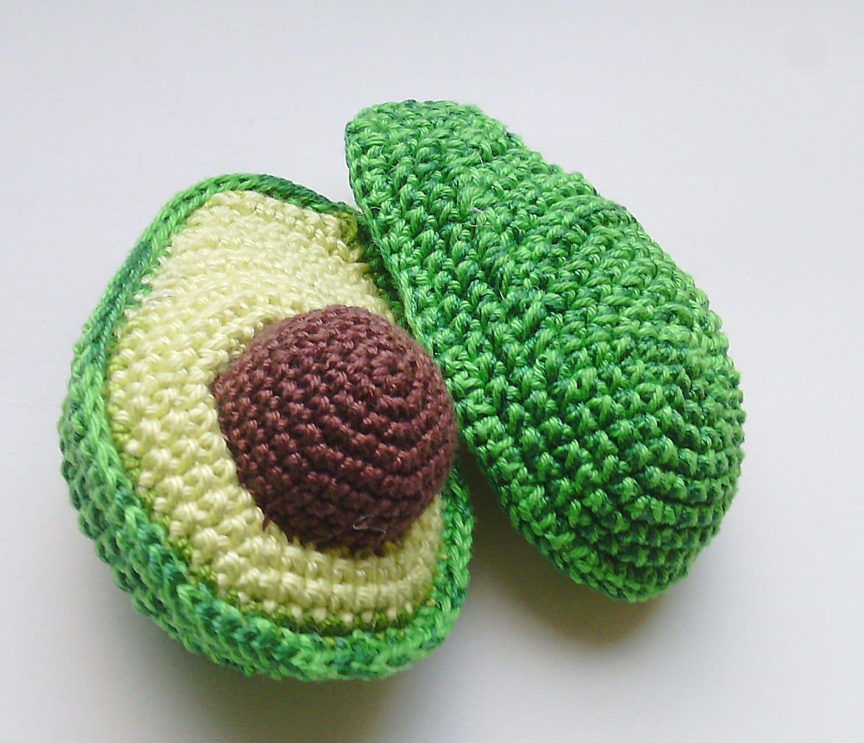 1 Stück Avocado häkeln häkeln Küche Dekor Häkeln